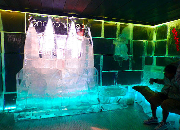 Icebarcelona intérieur glace