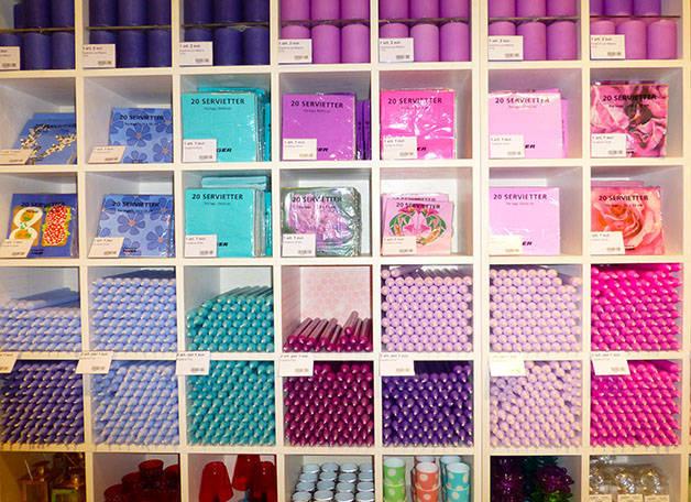 serviettes couleur tiger