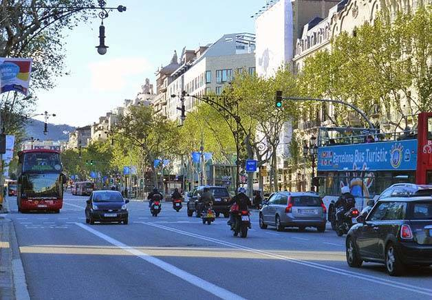 voiture route barcelone
