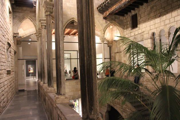 intérieur musée Picasso de Barcelone