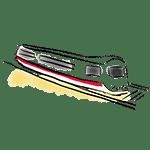 dessin train (transfert depuis l'aéroport)