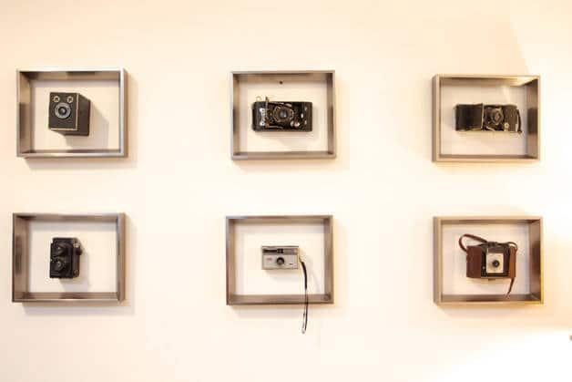 the Hipstel cadres avec appareils photos