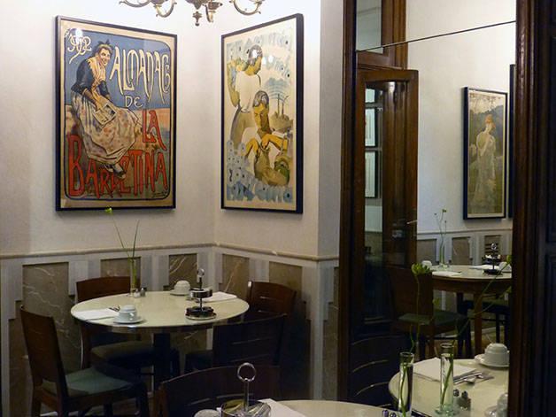 salle resto hôtel Astoria.