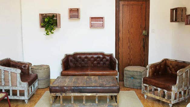 the Hipstel salon