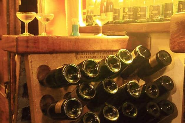 la Xampanyeria bouteilles