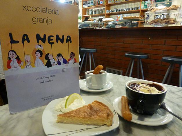 chocolat chaud la Nena