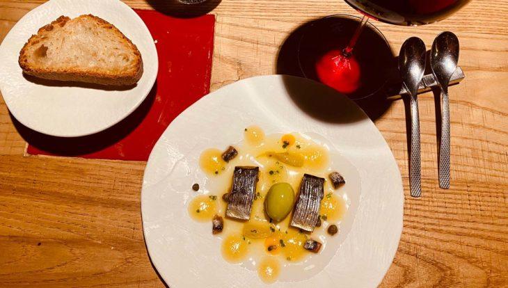 plat du restaurant disfrutar-gastronomie catalane