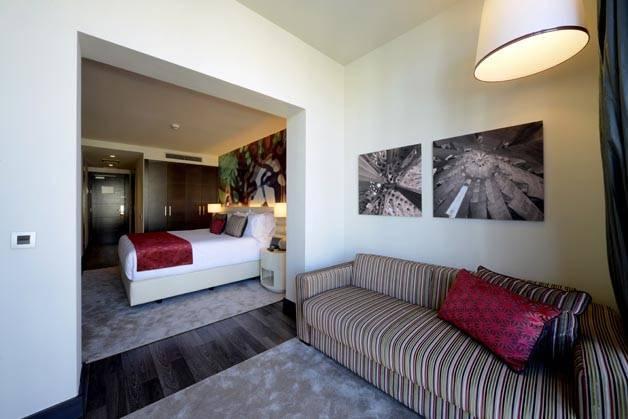 Hôtel Indigo salon chambre