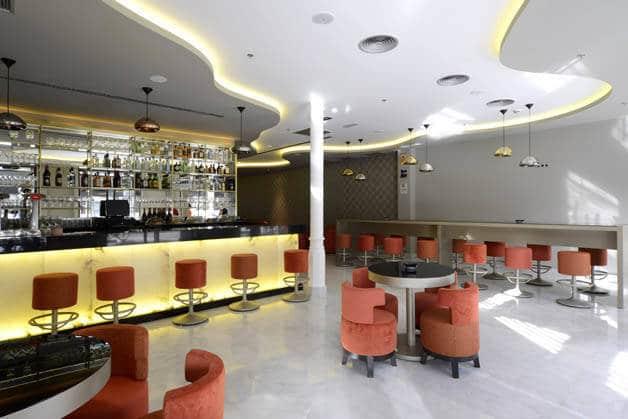 Hôtel Indigo bar