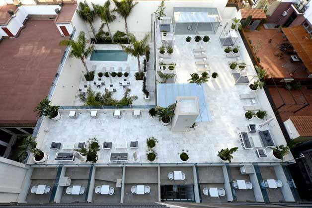 Hôtel Indigo terrasse