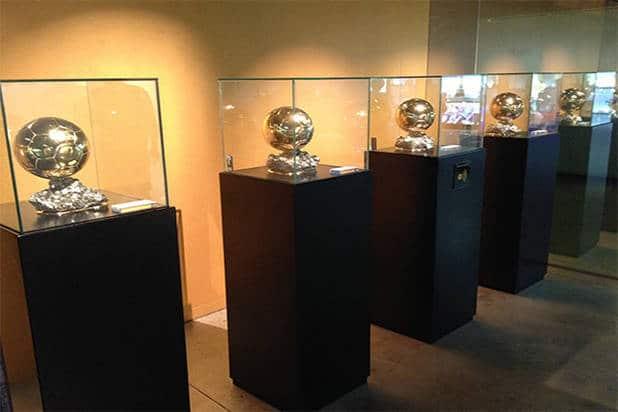 Ballons musée FC Barcelone