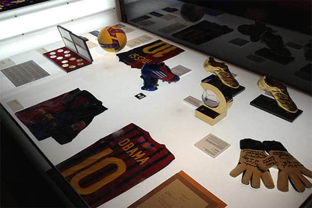 Galerie musée FC Barcelone