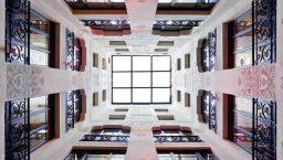 hôtel españa hall moderniste