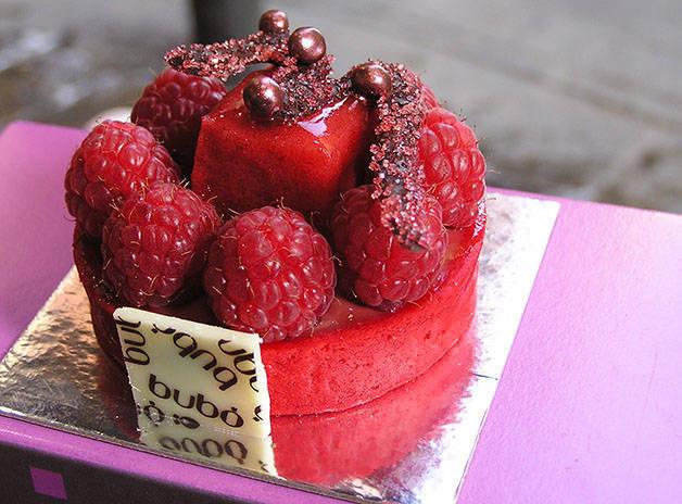 bubó tarte fruits rouges
