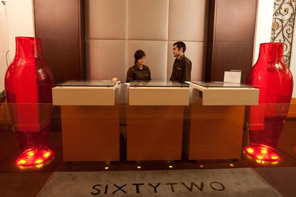 hôtel sixtytwo réception passeig de gracia