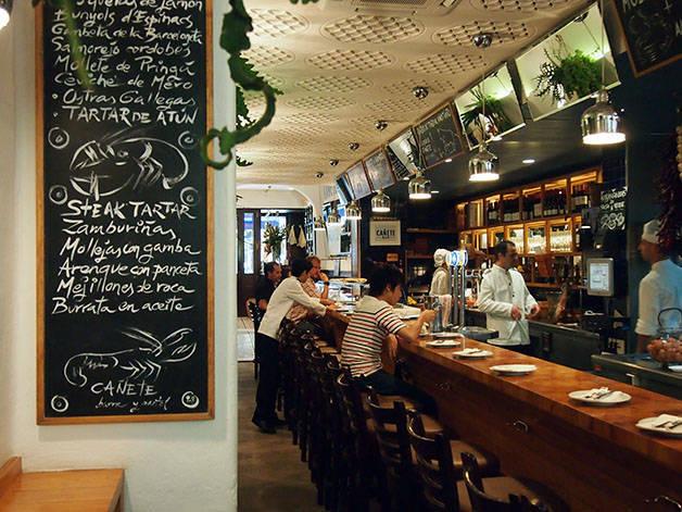 bar Cañete bien manger à Barcelone