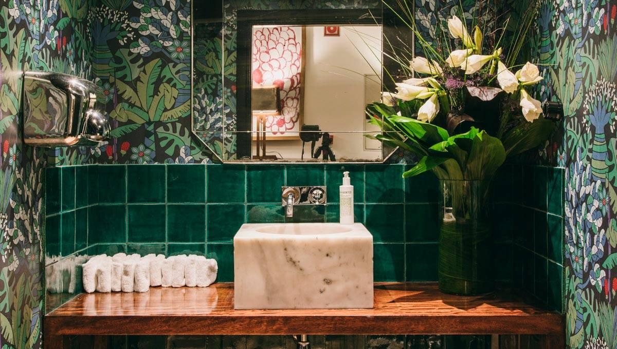 hôtel pulitzer salle de bain