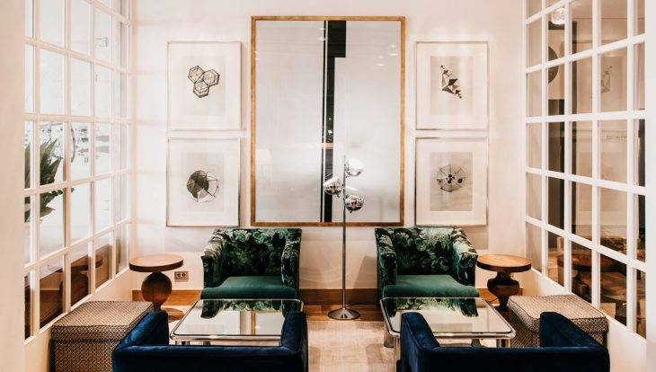 hôtel pulitzer salon
