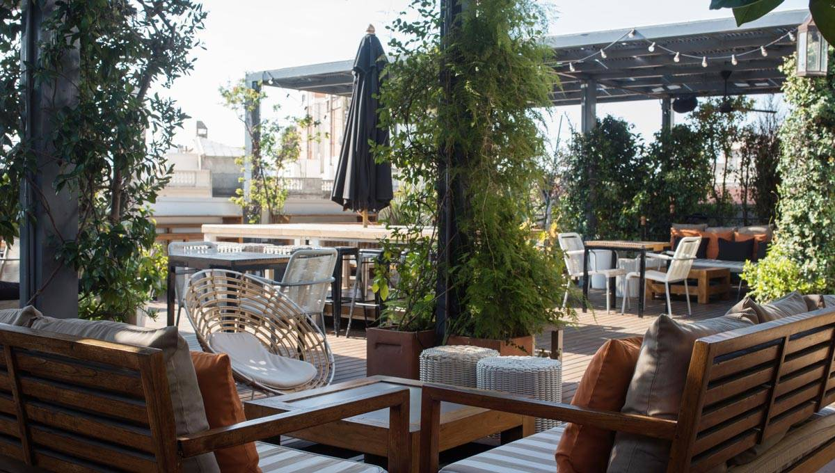 hôtel pulitzer terrasse