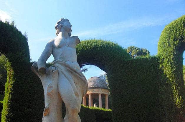 parc du labyrinthe d'horta statue
