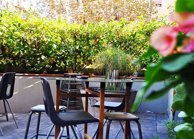 federal café terrasse