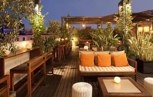 terrasses d'hôtels: hôtel pulitzer