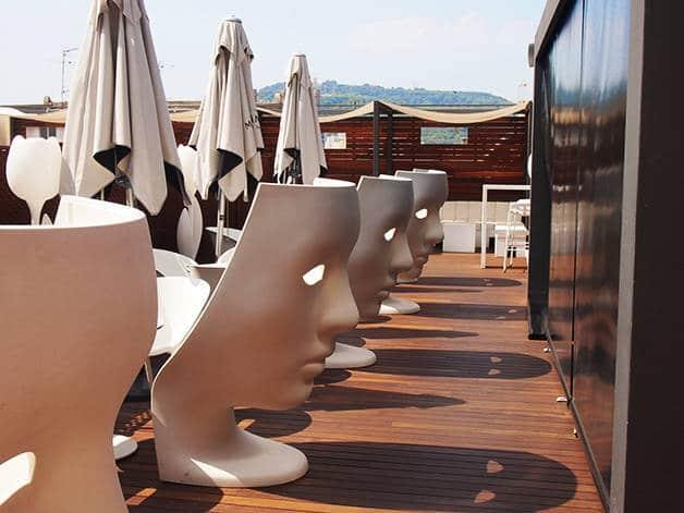 terrasses d'hôtles hôtel españa
