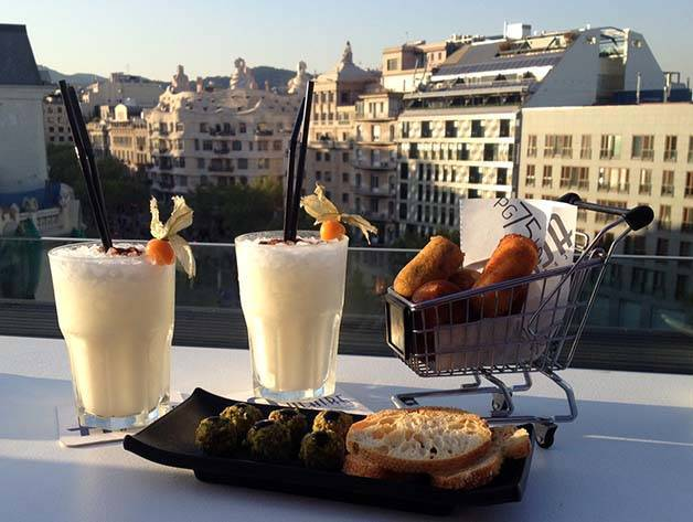 terrasses d'hôtels Condes de Barcelona
