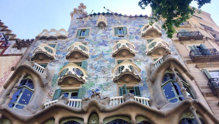 visiter barcelone: la casa Batlló