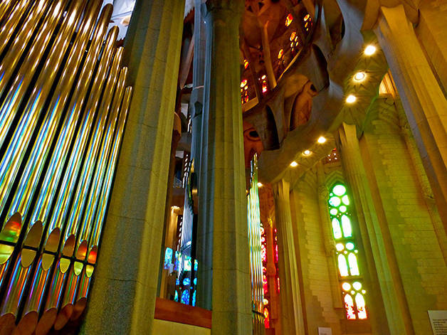 sagrada familia orgues