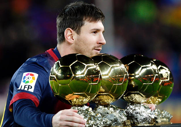 messi ballon or