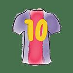 maillot barça-10