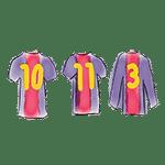 maillots barça 10 11 3