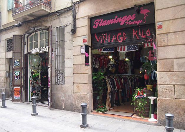 boutiques de Barcelone devanture