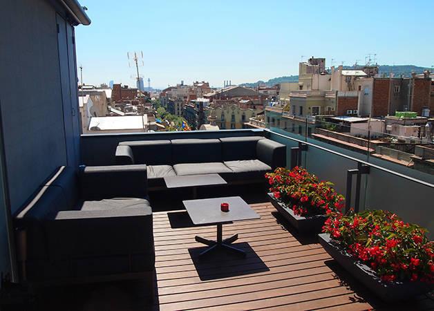 Hôtel Cram terrasse