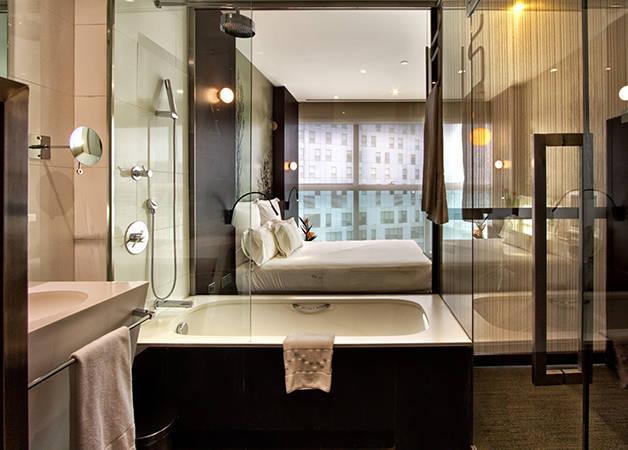 hotel The Gates diagonal chambre et salle de bain