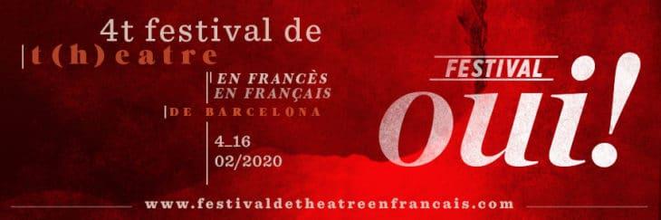 festival oui théâtre affiche