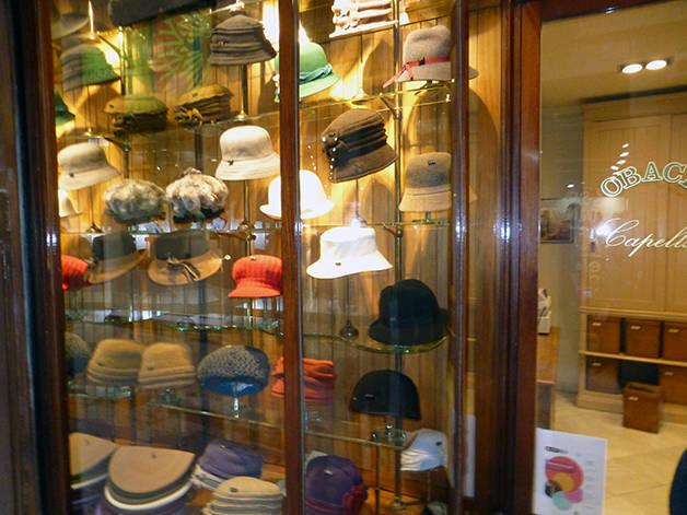 chapellerie Obach boutiques emblématiques