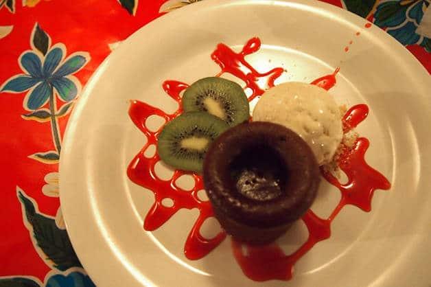 Rosa del Raval dessert