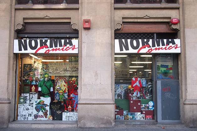norma comics librairie