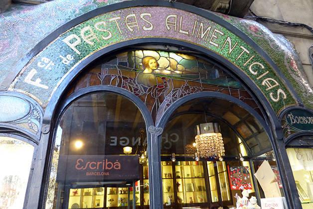 pâtisserie Escribà boutiques emblématiques