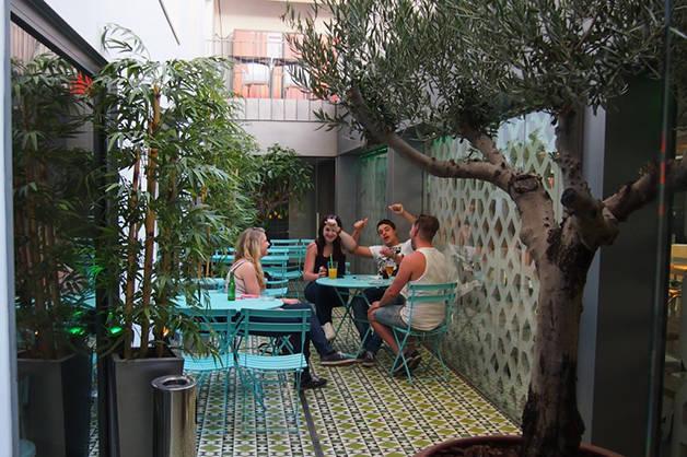 Christopher's inn patio