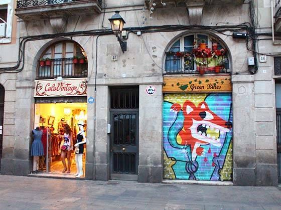boutiques du Raval