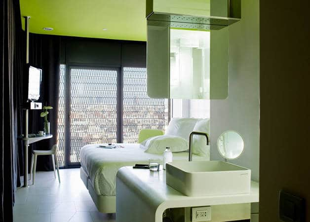 barcelo raval chambre verte