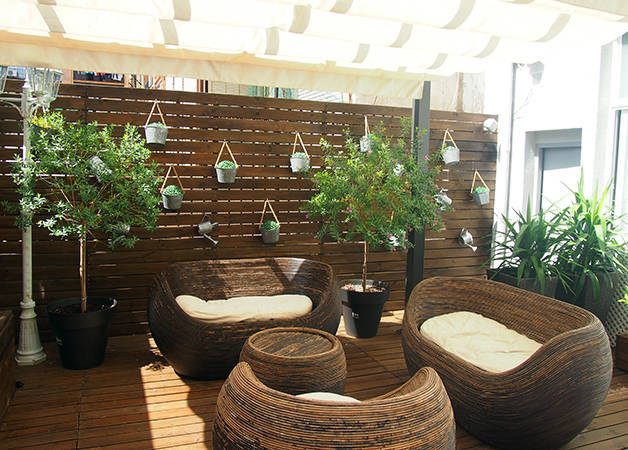 violeta boutique terrasse plantes