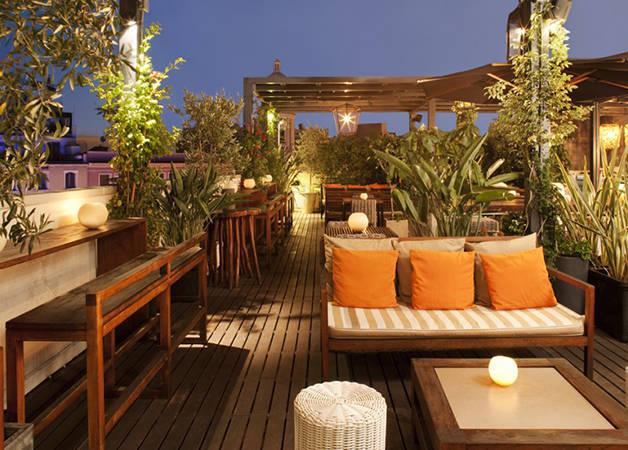 Hôtels Barcelone: terrasse du Pulitzer