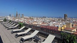 citadine Ramblas terrasse