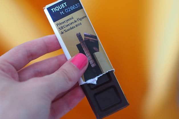 ticket musée du chocolat