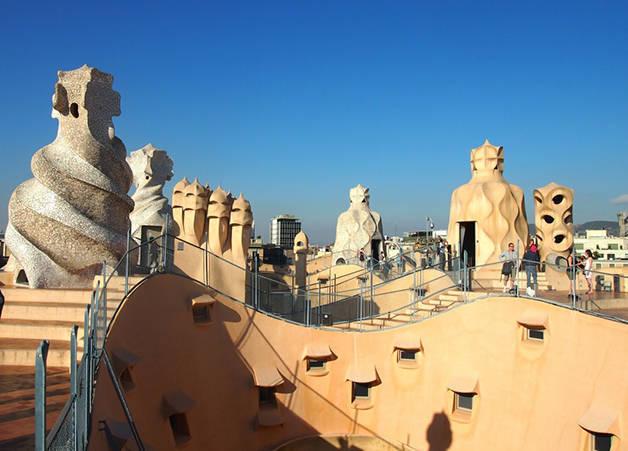 Toit terrasse La Pedrera