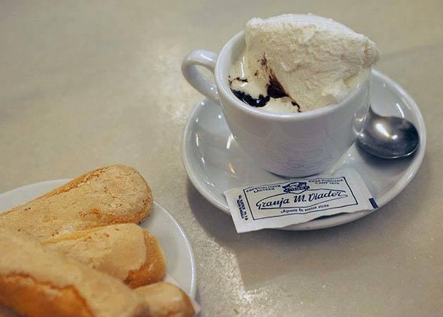 Viader chocolat chaud et melindros